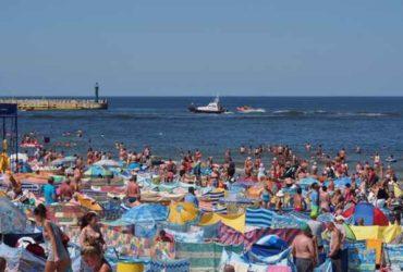 Tradycyjne zdjęcie nad morzem