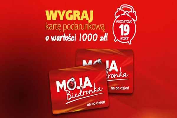 Promocja Biedronka Głuszyca  konkurs moja Biedronka