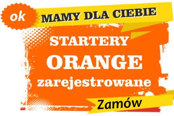 Sprzedam zarejestrowane karty sim orange Trzebnica  zadzwoń 887 332 665